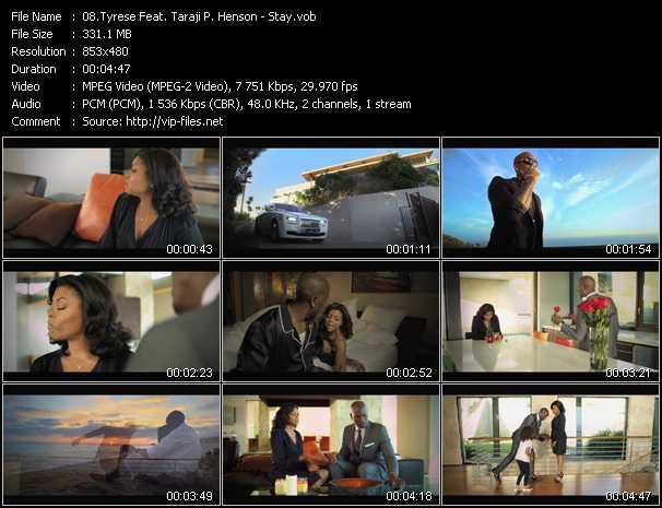 Tyrese Feat. Taraji P. Henson - Stay