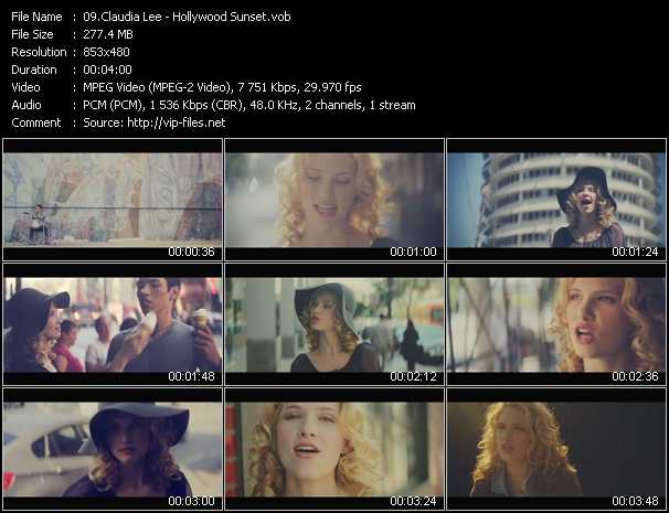 Claudia Lee - Hollywood Sunset