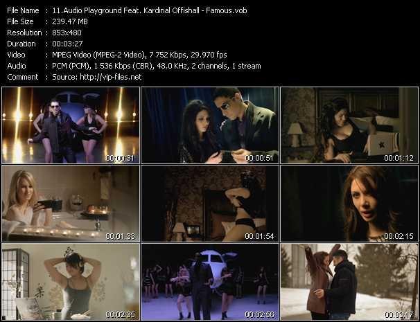 Audio Playground Feat. Kardinal Offishall - Famous