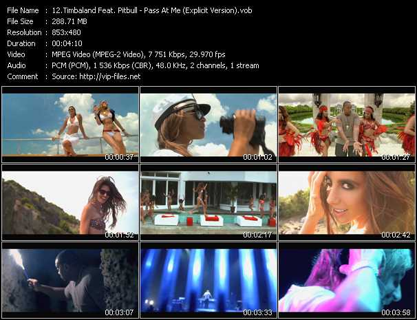 Timbaland Feat. Pitbull - Pass At Me (Explicit Version)