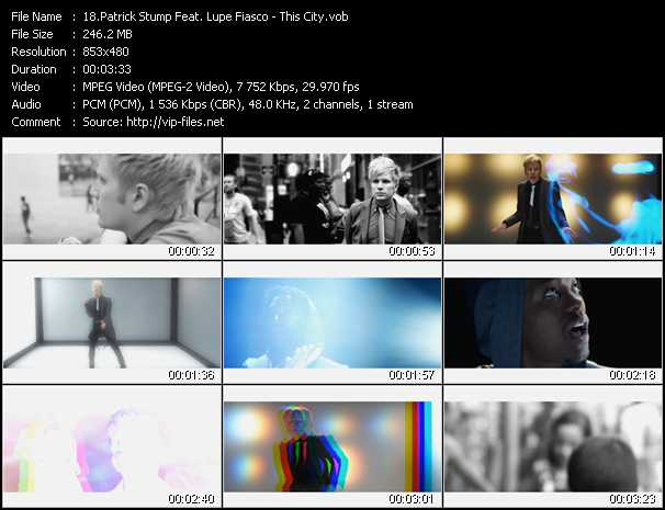 Patrick Stump Feat. Lupe Fiasco - This City