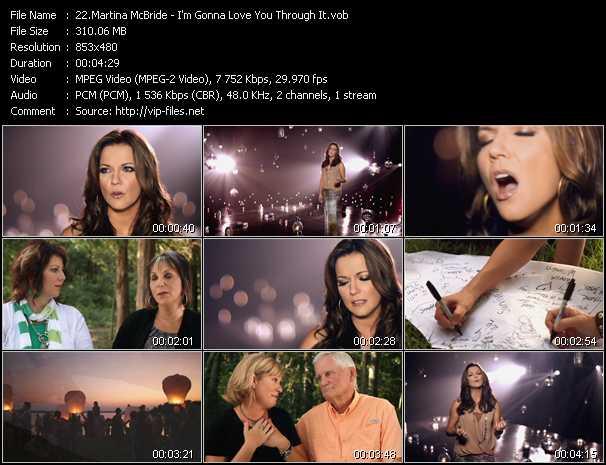 Martina McBride - I'm Gonna Love You Through It