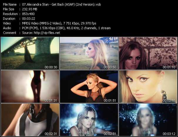 Alexandra Stan - Get Back (ASAP) (2nd Version)