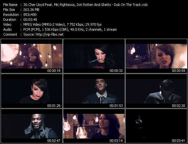 Cher Lloyd Feat. Mic Righteous, Dot Rotten And Ghetts - Dub On The Track