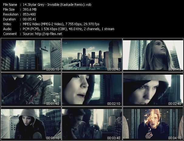 Skylar Grey - Invisible (Kaskade Remix)