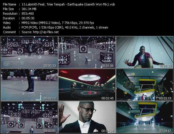 Labrinth Feat. Tinie Tempah - Earthquake (Gareth Wyn Mix)