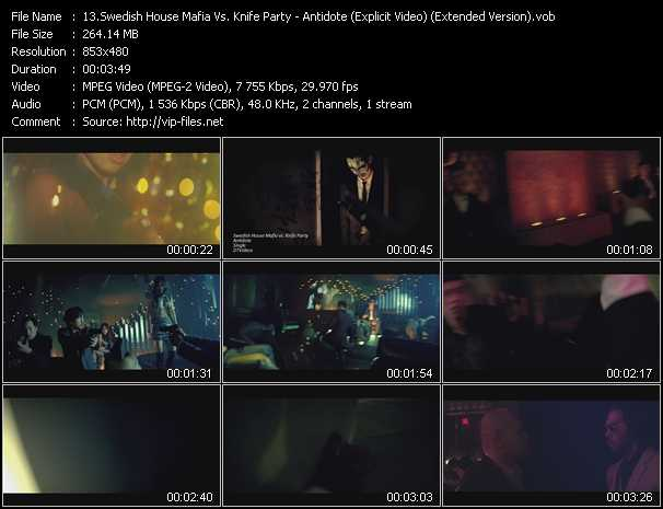 Swedish House Mafia Vs. Knife Party - Antidote (Explicit Video) (Extended Version)