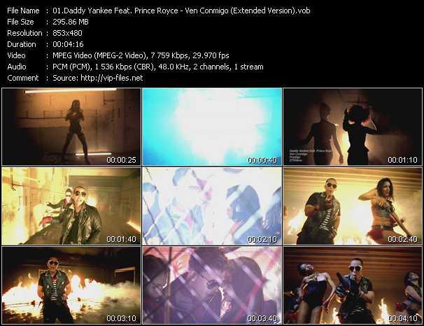 Daddy Yankee Feat. Prince Royce - Ven Conmigo (Extended Version)
