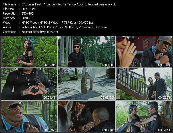 Jomar Feat. Arcangel - No Te Tengo Aqui (Extended Version)