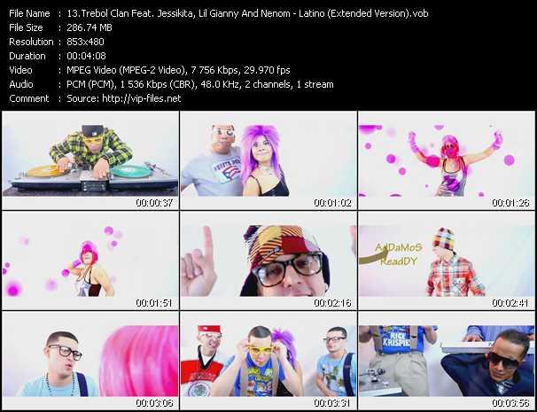 Trebol Clan Feat. Jessikita, Lil' Gianny And Nenom - Latino (Extended Version)