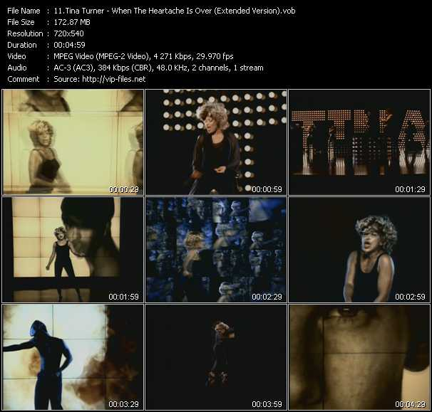 Tina Turner - When The Heartache Is Over (Extended Version)