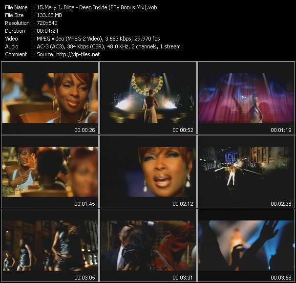 Mary J. Blige - Deep Inside (ETV Bonus Mix)