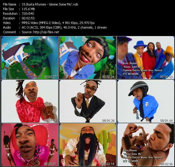 Busta Rhymes - Gimme Some Mo'