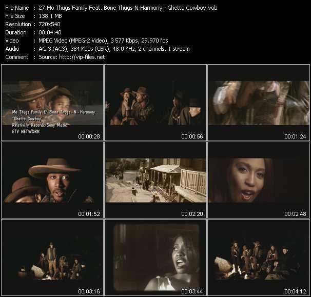Mo Thugs Family Feat. Bone Thugs-N-Harmony - Ghetto Cowboy