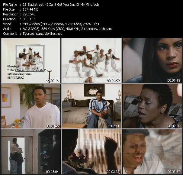 Blackstreet - I Can't Get You Out Of My Mind