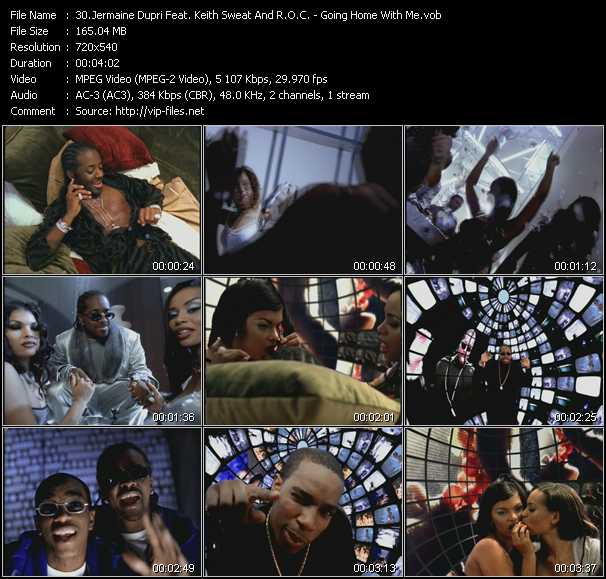 Jermaine Dupri Feat. Keith Sweat And R.O.C. - Going Home With Me