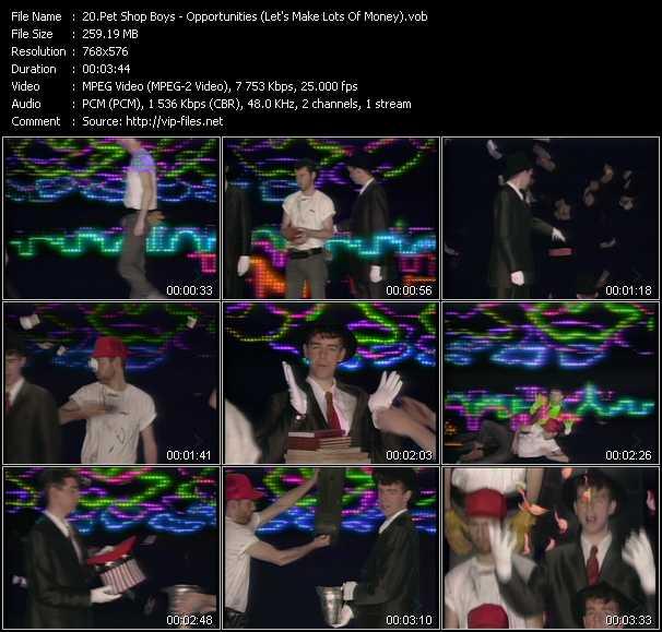 Pet Shop Boys - Opportunities (Let's Make Lots Of Money)