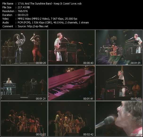 Kc And The Sunshine Band - Keep It Comin' Love