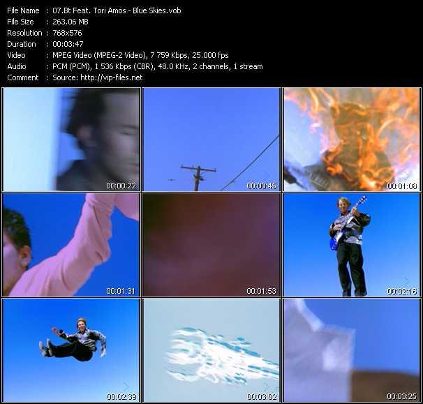 Bt Feat. Tori Amos - Blue Skies