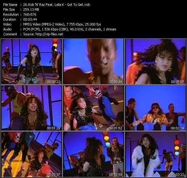 Leila K Feat. Rob 'N' Raz - Got To Get (UK Version)