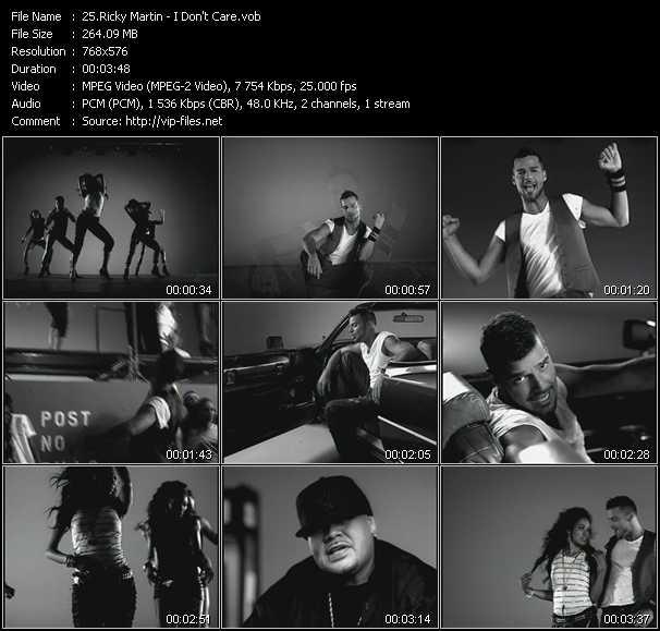 Ricky Martin - I Don't Care