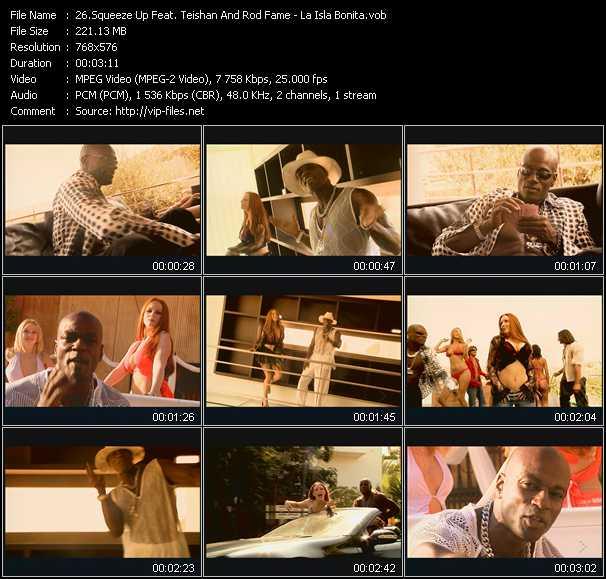 Squeeze Up Feat. Teishan And Rod Fame - La Isla Bonita