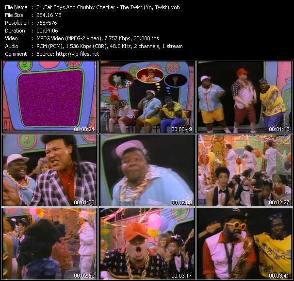 Fat Boys And Chubby Checker - The Twist (Yo, Twist)