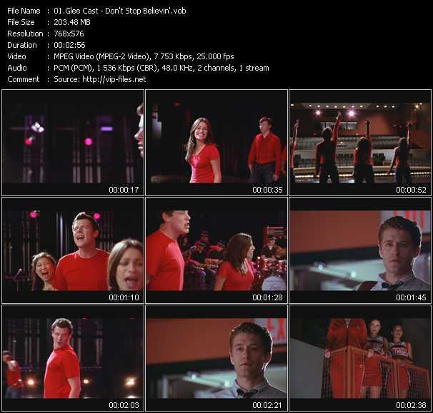 Glee Cast - Don't Stop Believin'