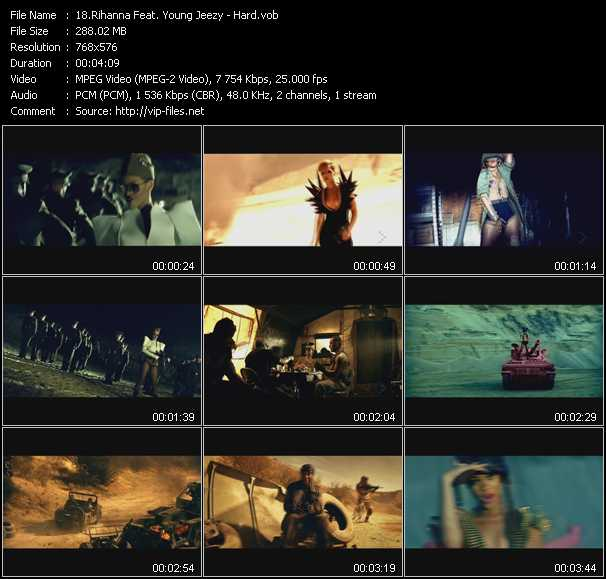 Rihanna Feat. Young Jeezy - Hard