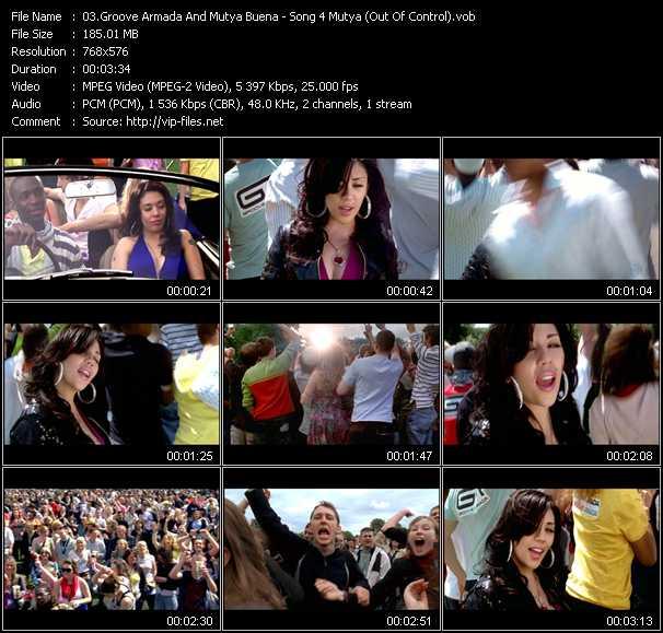 Groove Armada And Mutya Buena - Song 4 Mutya (Out Of Control)