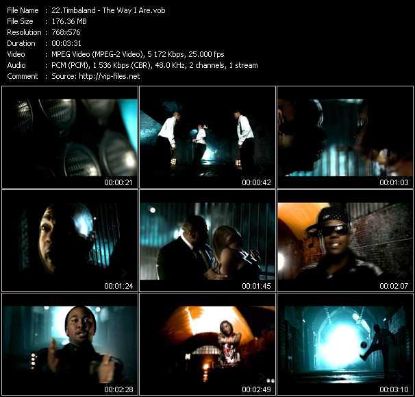 Timbaland Feat. Keri Hilson, D.O.E. And Sebastian - The Way I Are