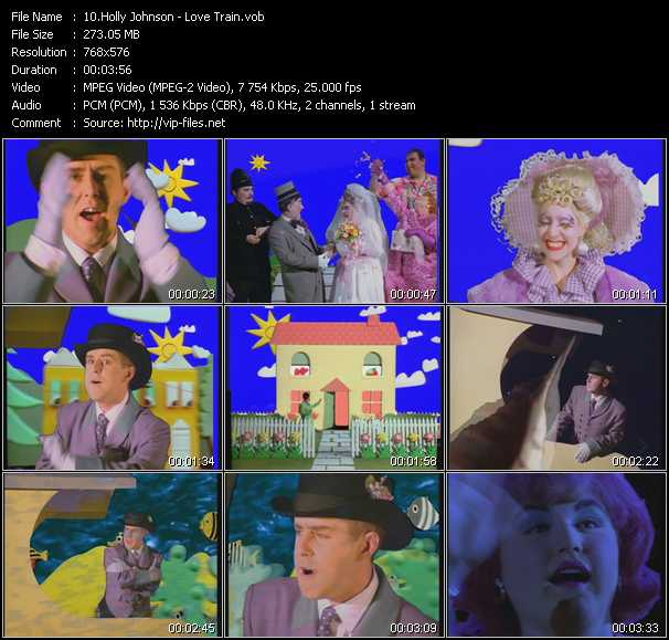 Holly Johnson - Love Train