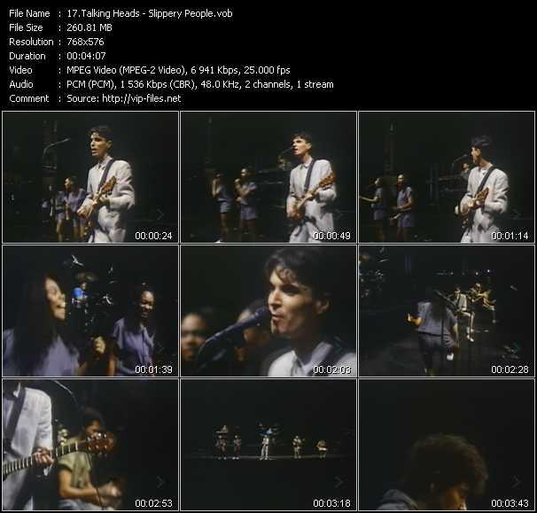 Talking Heads - Slippery People