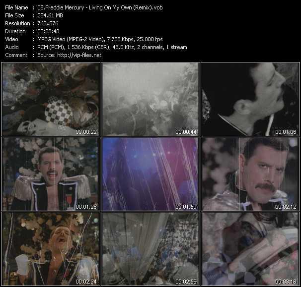 Freddie Mercury - Living On My Own (Remix)