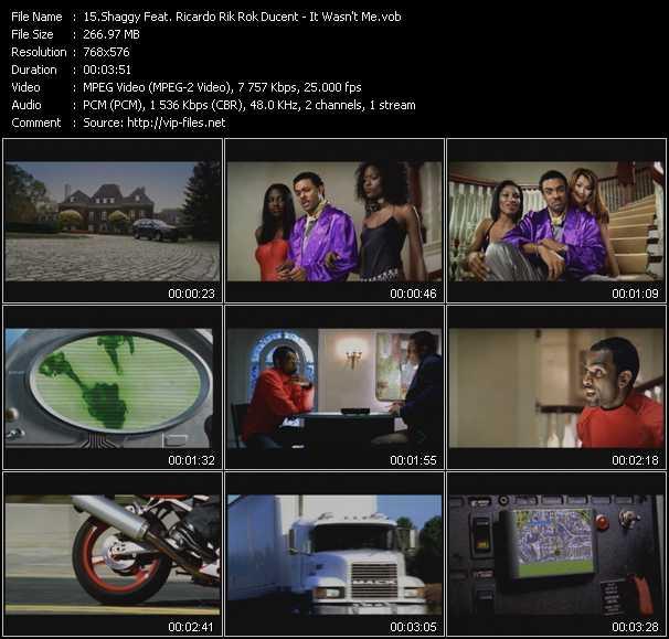 Shaggy Feat. Ricardo Rik Rok Ducent - It Wasn't Me