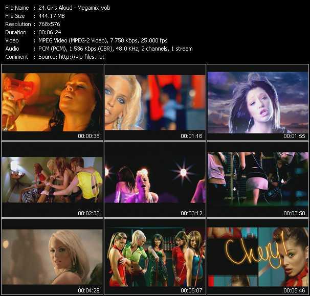 Girls Aloud - Megamix