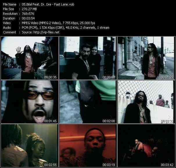 Bilal Feat. Dr. Dre - Fast Lane