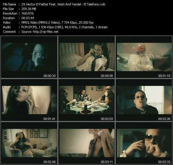 Hector El Father Feat. Wisin And Yandel - El Telefono