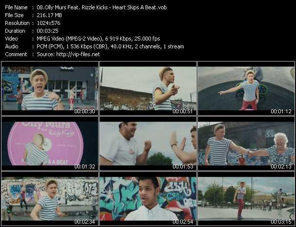 Olly Murs Feat. Rizzle Kicks - Heart Skips A Beat
