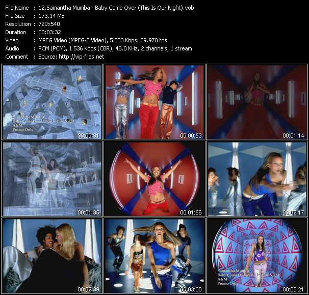 Samantha Mumba - Baby Come Over (This Is Our Night)