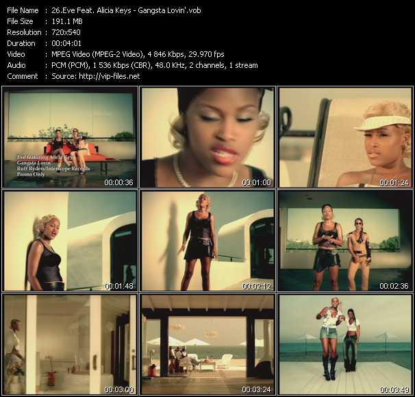 Eve Feat. Alicia Keys - Gangsta Lovin'