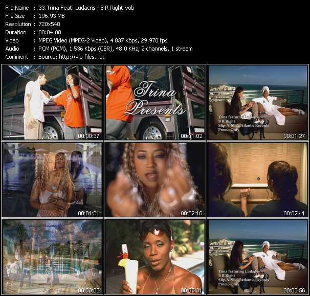 Trina Feat. Ludacris - B R Right