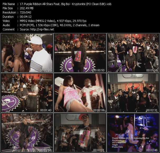 Purple Ribbon All-Stars Feat. Big Boi - Kryptonite (PO Clean Edit)