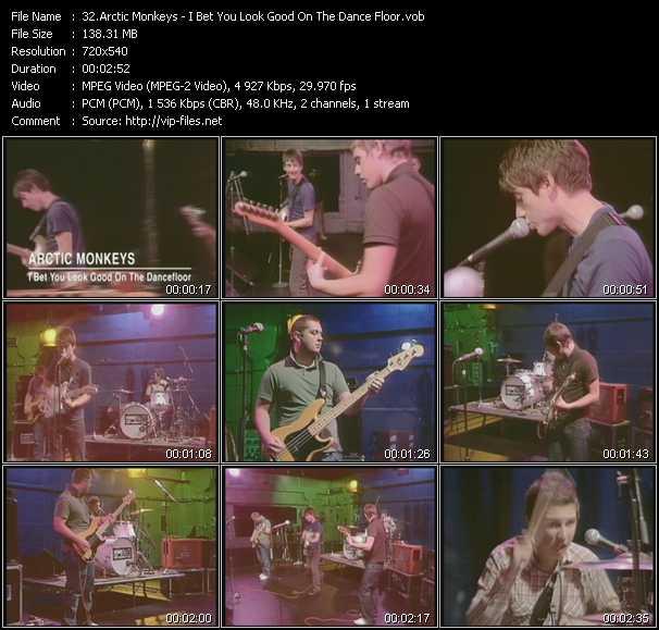 Arctic Monkeys - I Bet You Look Good On The Dance Floor
