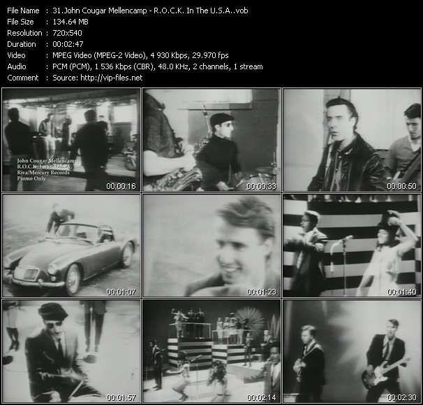 John Cougar Mellencamp - R.O.C.K. In The U.S.A.