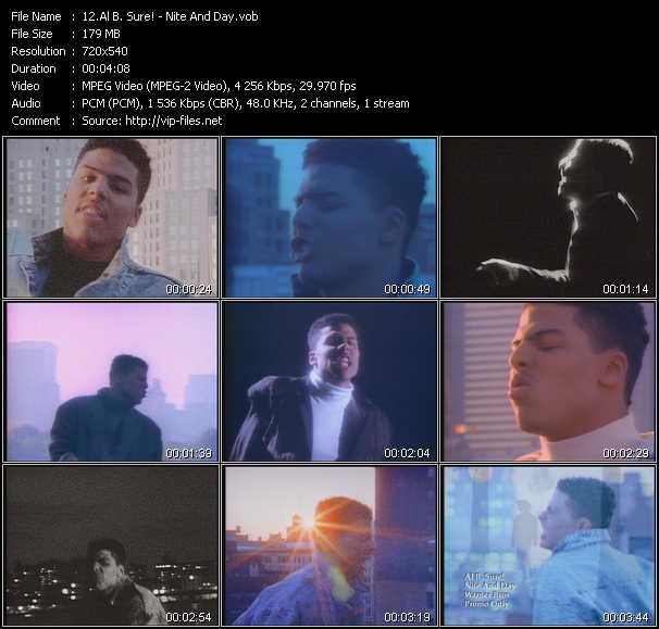 Al B. Sure! - Nite And Day