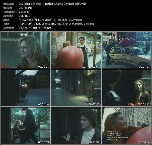 Roger Sanchez - Another Chance (Original Edit)