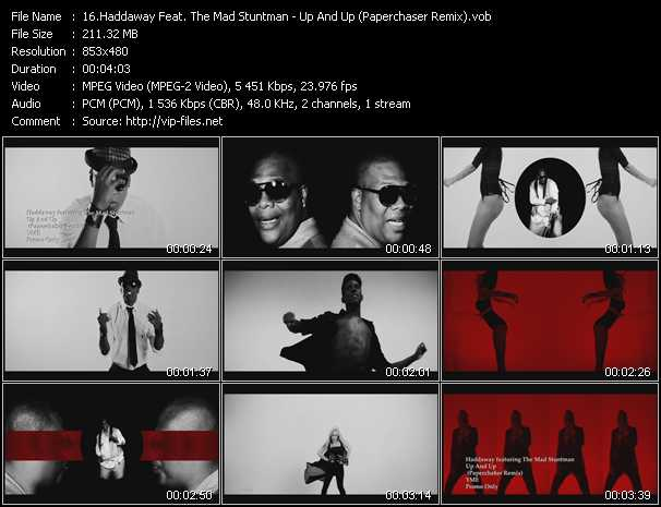 Haddaway Feat. The Mad Stuntman - Up And Up (Paperchaser Remix)