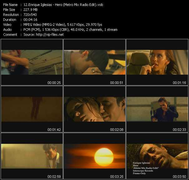 Enrique Iglesias - Hero (Metro Mix Radio Edit)