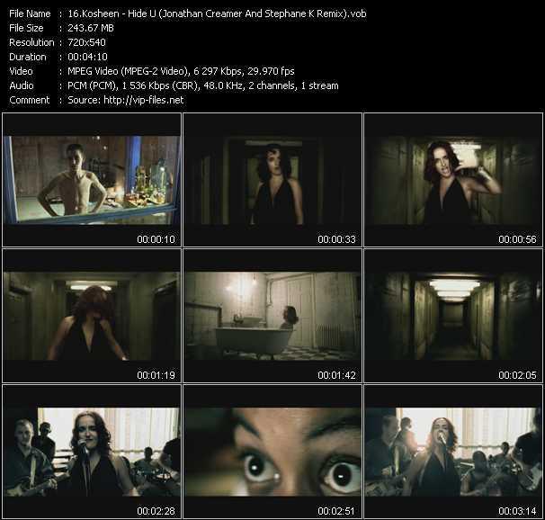 Kosheen - Hide U (Jonathan Creamer And Stephane K Remix)